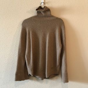 Tan Micheal Kors sweater will bell sleeves!